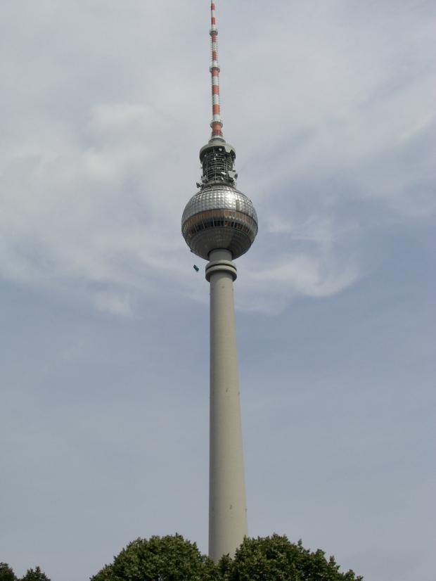 Fernsehturm - Fjernsynstårnet i Berlin