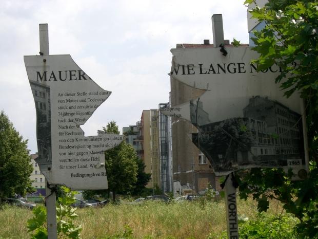 Berlin og sporene af Berlinmuren