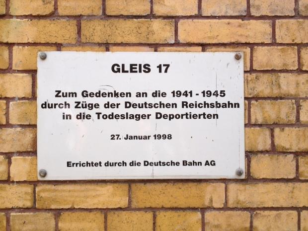 Gleis 17 - jødisk mindesmærke
