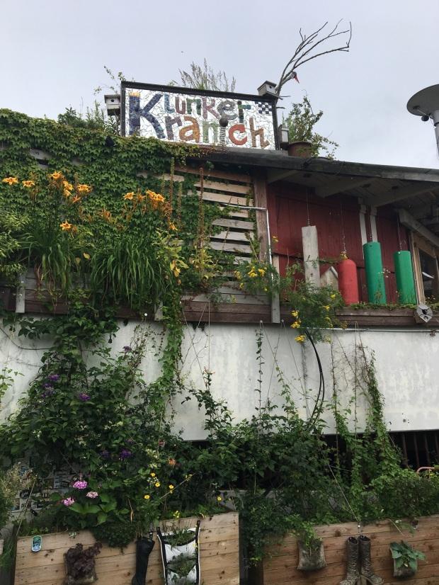 Klunkerkranich - udsigt fra tagterrassen i Neukölln